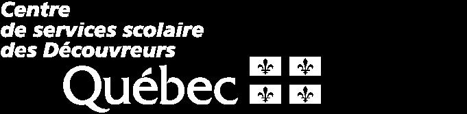 Logo du Centre de services scolaire des Découvreurs