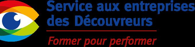 Logo du service aux entreprises des Découvreurs